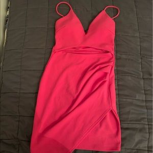 New with tags hot pink mini dress